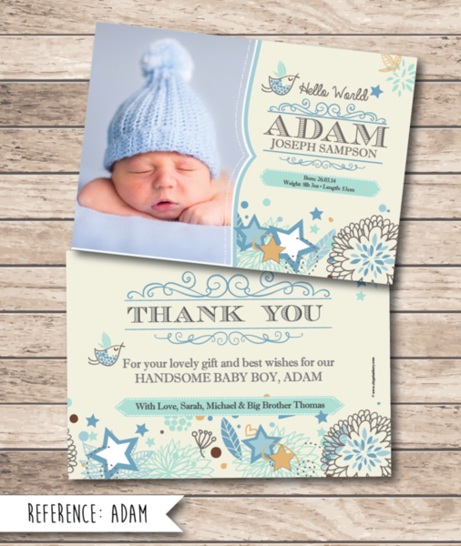 Baby Gift Thank You Card Messages : Cityprint print design wedding invitations memoriam cards